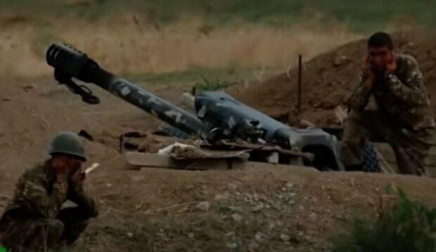 Війна в Карабасі. Фото: скріншот відео
