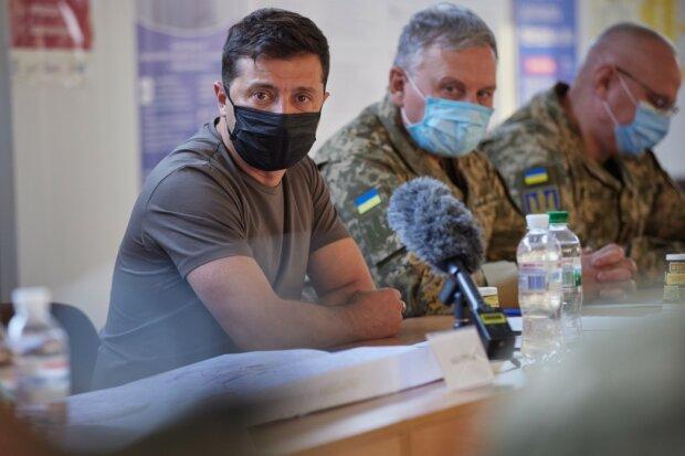 Зеленський відвідав лінію фронту