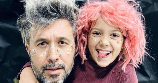 Сергій Бабкін з дочкою Василиною