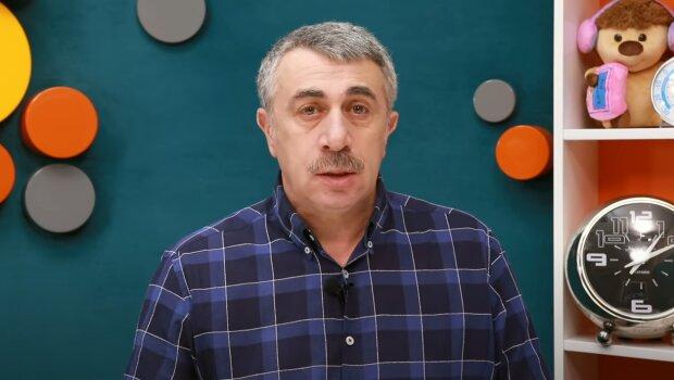 Євген Комаровський, скріншот із відео